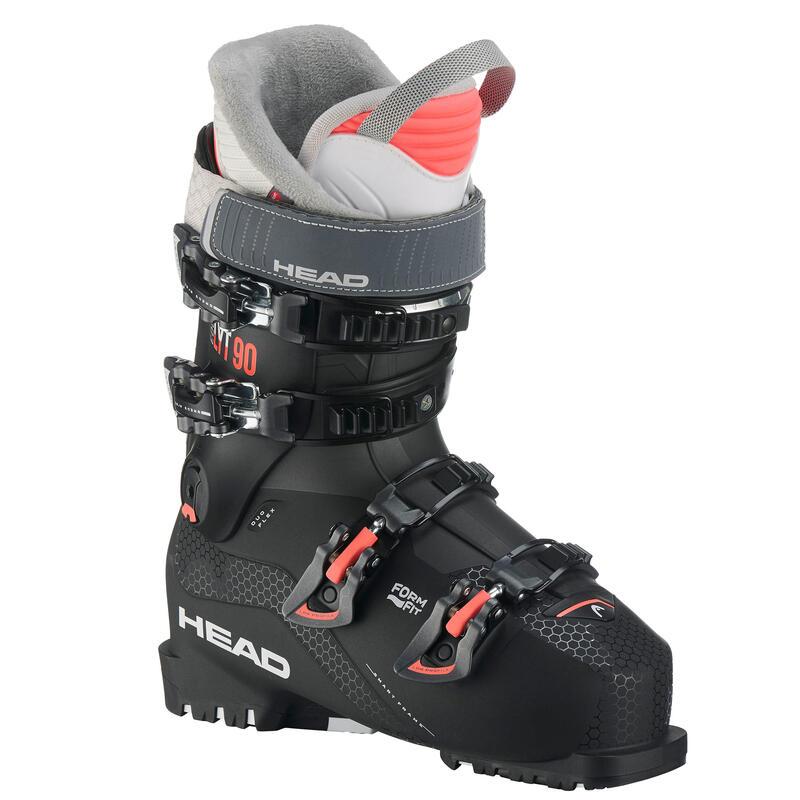 Botas esquí Mujer, Head LYT 90, ALPINO, NEGRO