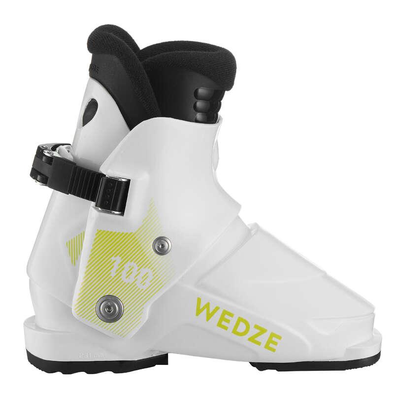 ЭКИПИРОВКА ДЛЯ ТРАССОВОГО КАТАНИЯ НА ЛЫЖАХ ДЛЯ МАЛЫШЕЙ Обувь - Ботинки лыжные KID 100 WEDZE - Обувь
