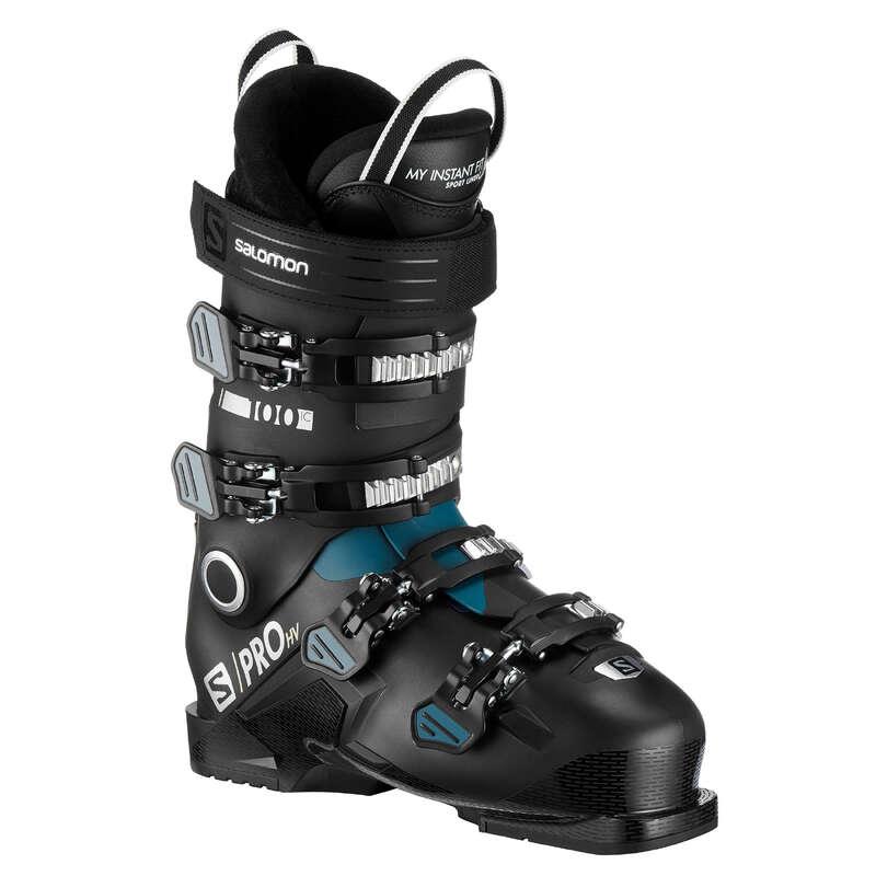 MEN'S SKI BOOTS INTERMED. SKIERS Descopera Produsele Reduse - Clăpari schi Salomon SPRO 100  SALOMON - COPII