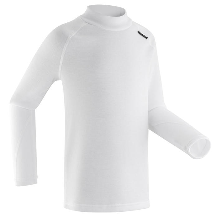 Thermoshirt kind | Thermokleding kind | Wedze 100 | Wit