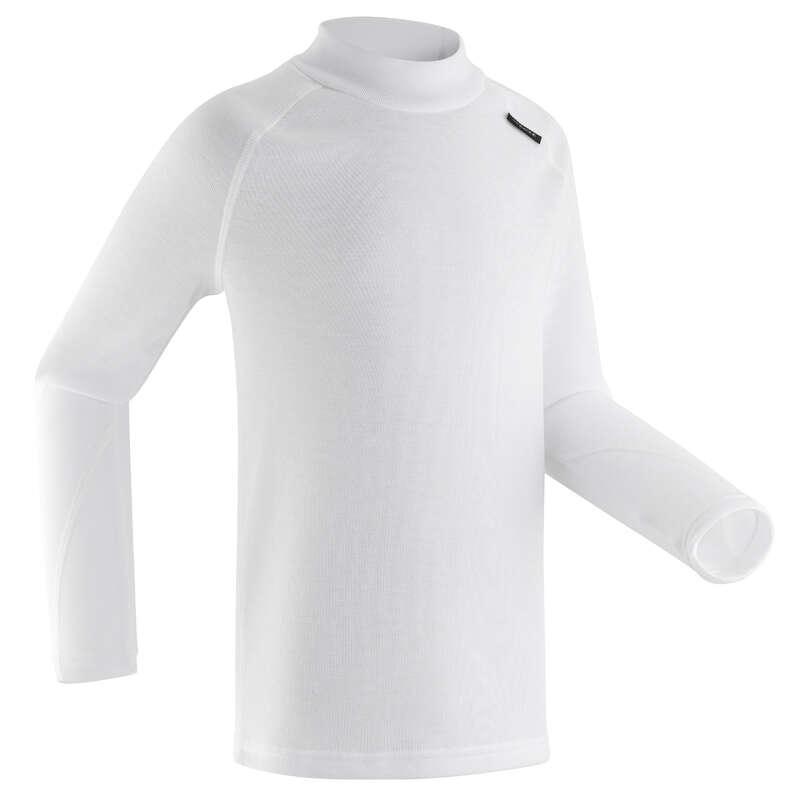 BIELIZNA I 2 WARSTWA NARCIARSTWO DLA CHLOPCÓW Bielizna i akcesoria dziecięce - Koszulka BL 100  WEDZE - Bielizna termoaktywna dziecięca