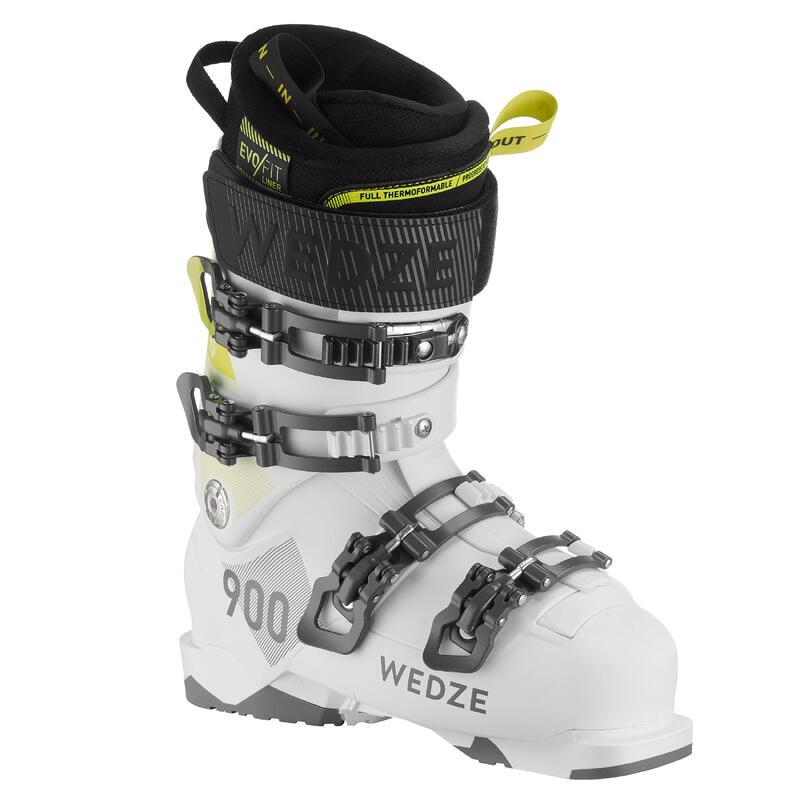 Chaussure de ski de piste FIT 900 blanches