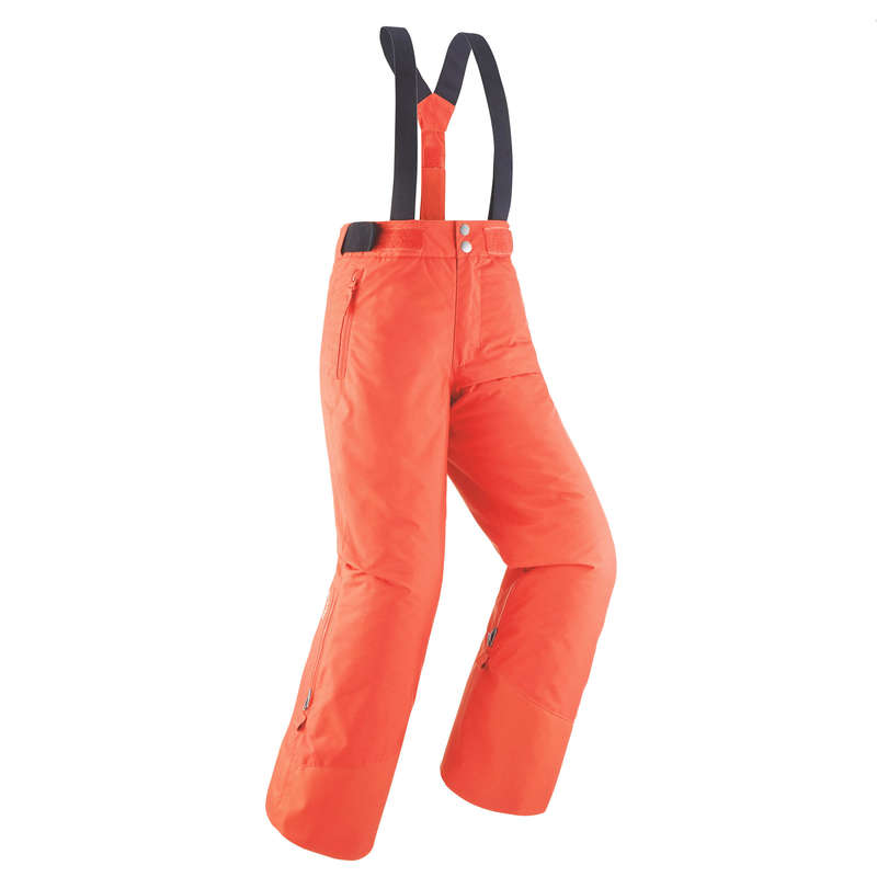 Çocuk Kayak Pantolonu - Mercan Rengi - 500 WEDZE - Decathlon
