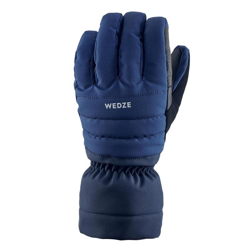 Adult Downhill Ski Gloves - Navy Blue