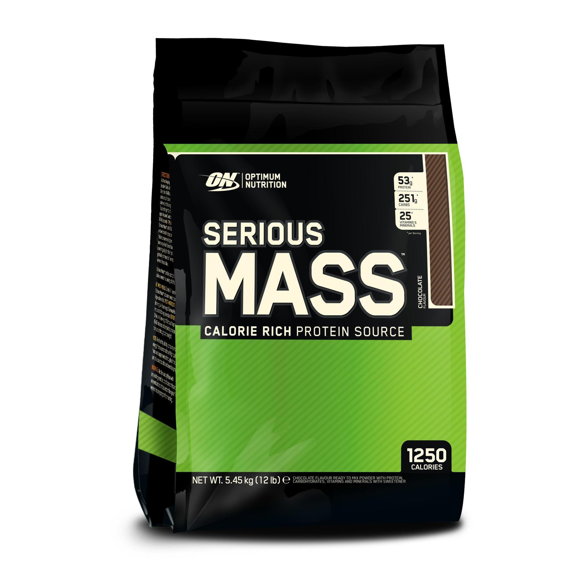 Optimum nutrition em Serious Mass chocolade 5,4 kg kopen