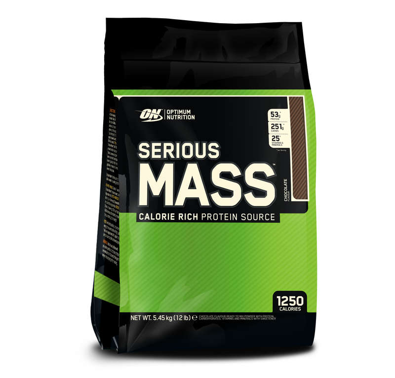 PROTEINS AND SUPPLEMENTS Supplements - Serious Mass 5.4kg - Chocolate OPTIMUM NUTRITION EM - Supplements