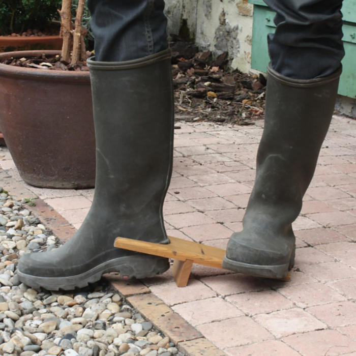Retire-botte marron