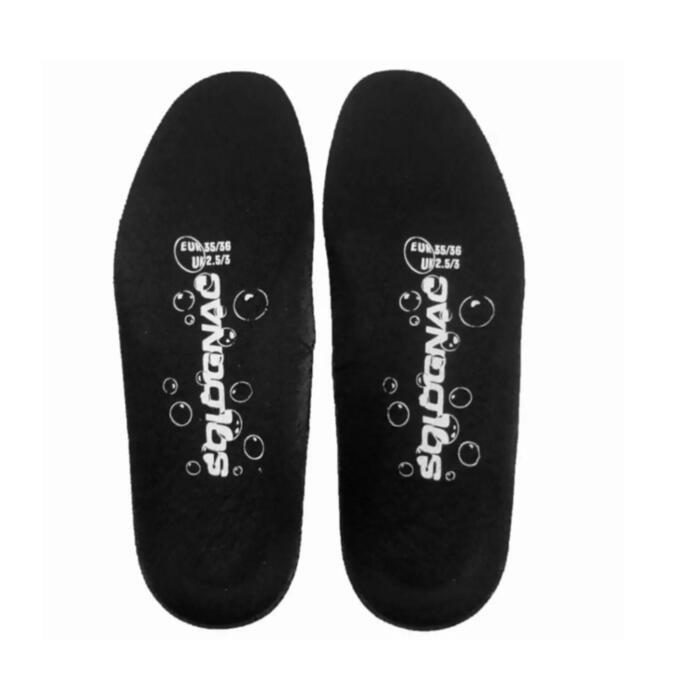 Zolen voor laarzen inverness 100 zwart