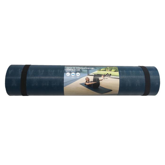 Fitnessmat 100 groen 160 cm x 60 cm x 7 mm