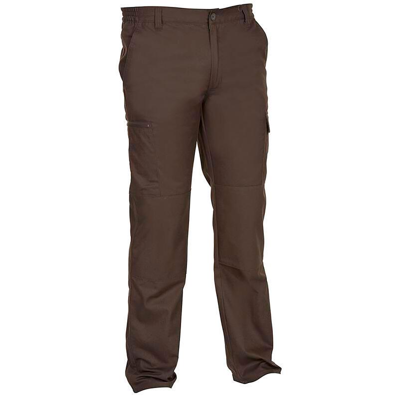 Pantalon chasse résistant Steppe 300 marron