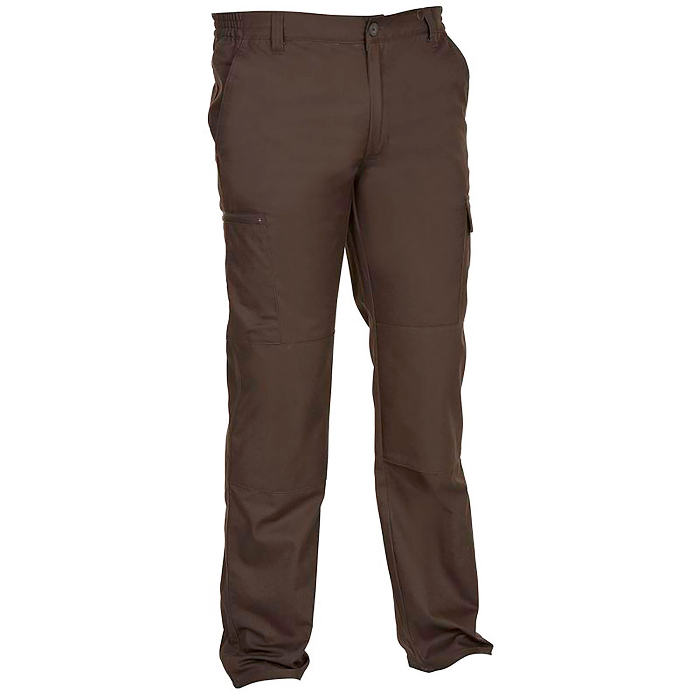 Pantalon Stepă 300 Maro
