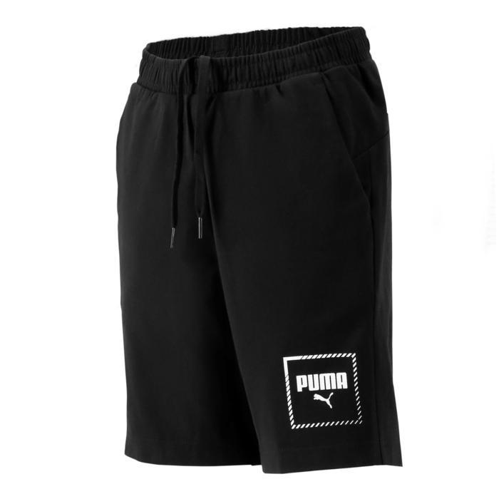 Short regular boy noir Puma