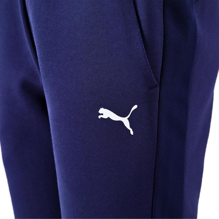 Pantalon regular boy bleu marine Puma