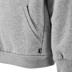 Hoodie voor jongens regular fit grijs