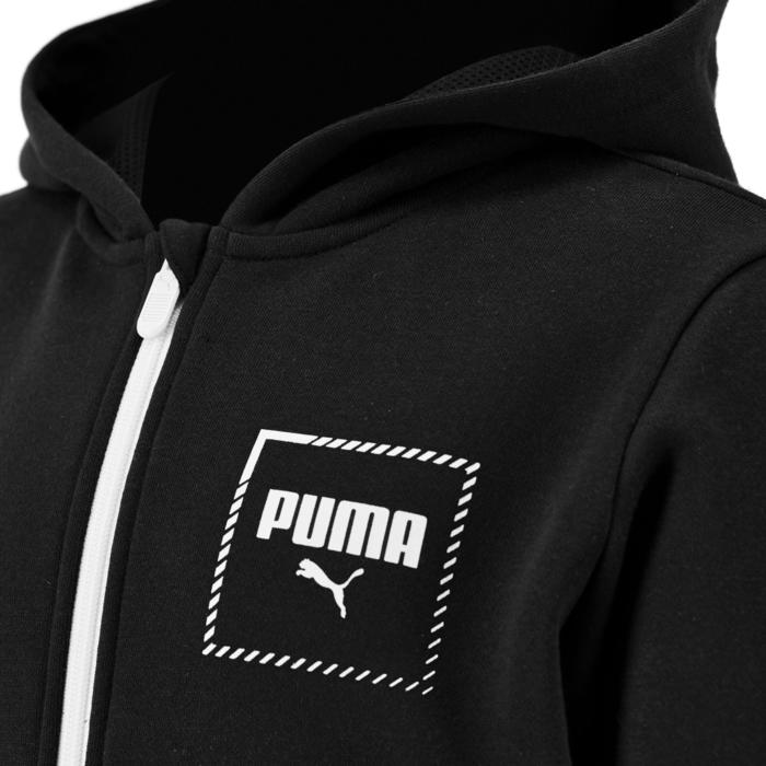 Veste capuche regular boy noir Puma