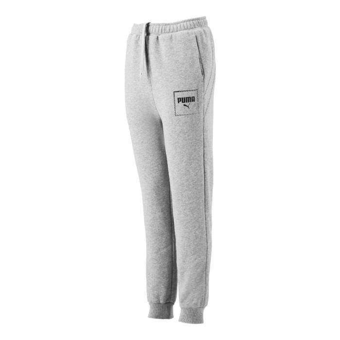 Pantalon regular boy gris Puma