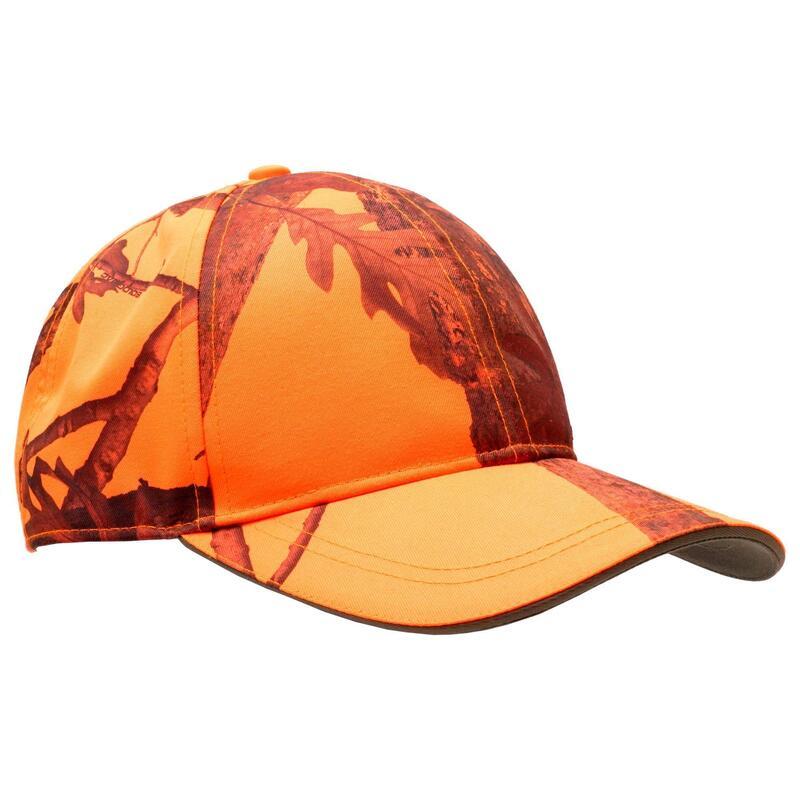 Camouflage pet voor de jacht 500 oranje