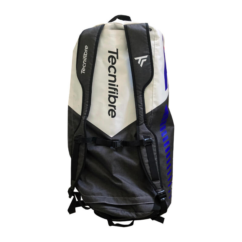 Bolsa Transporte/Raquetero Squash Tecnifibre Rackpack Team Icon Negro/Blanco