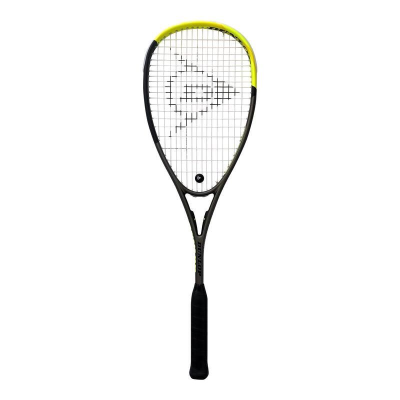 Raqueta Squash Dunlop Blackstorm 5.0 2020 Adulto Negro/Amarillo