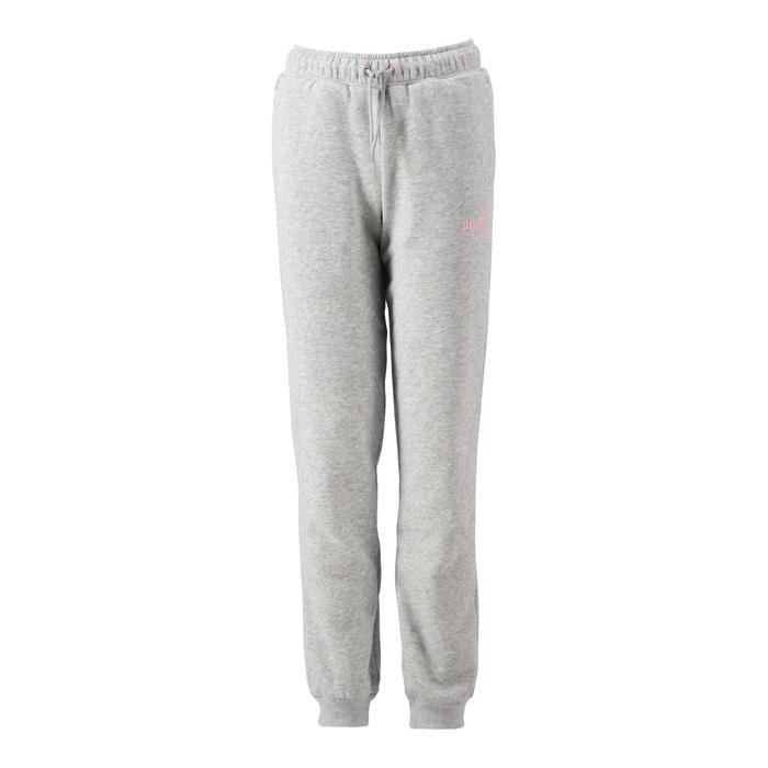Pantalon regular girl gris Puma