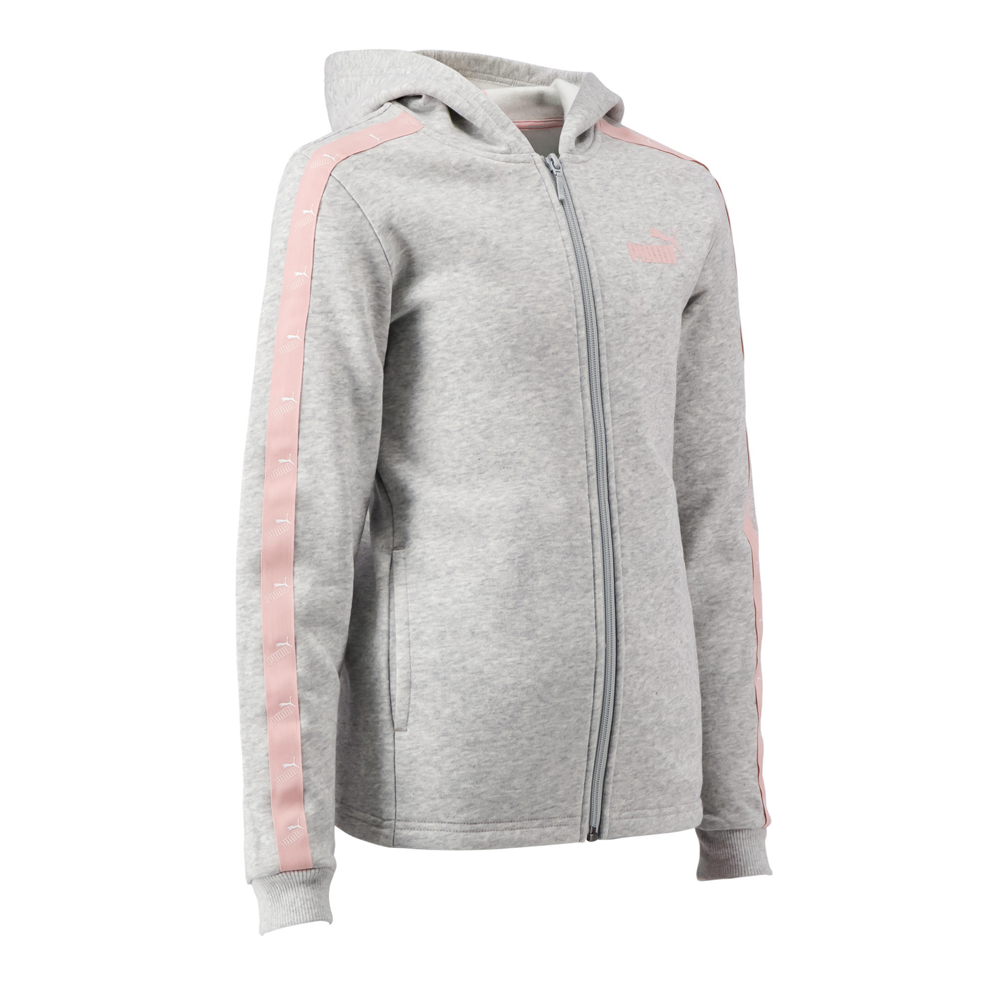 Jachetă glugă Puma gri