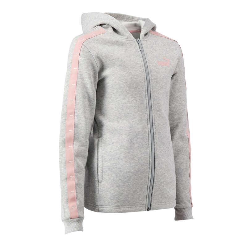 KLÄDER FÖR GYMNASTIK KALL VÄDERLEK, FLIC Populärt - Huvjacka Puma Junior PUMA - Långärmade tröjor