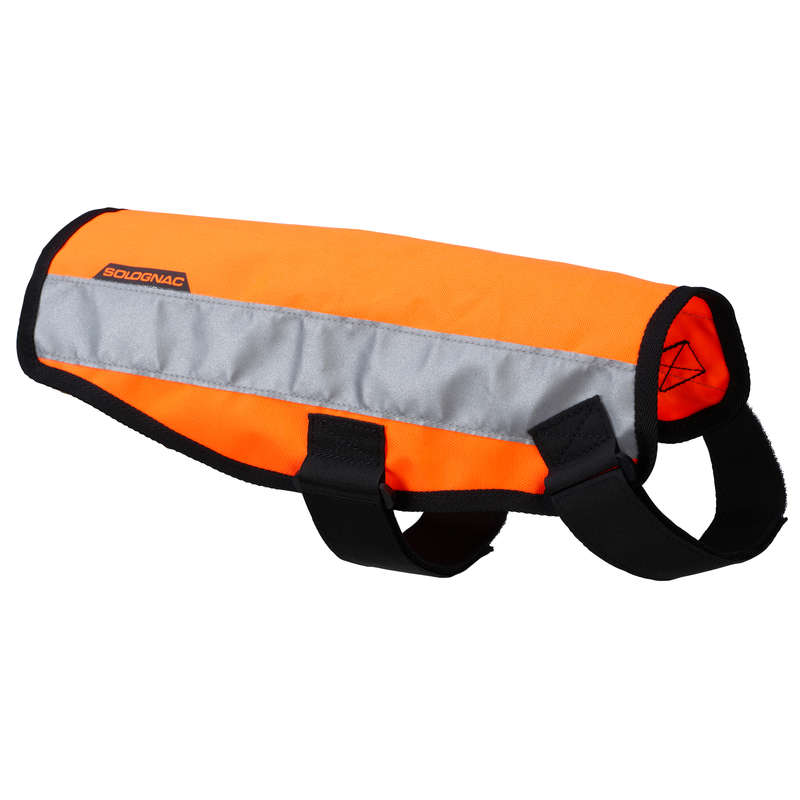 SPORTTILLBEHÖR FÖR HUNDAR Jakt och Hundsport - Hundväst 100 orange SOLOGNAC - Hundsport