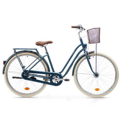 City Bike 28 Zoll Elops 540 LF Damen petrolblau