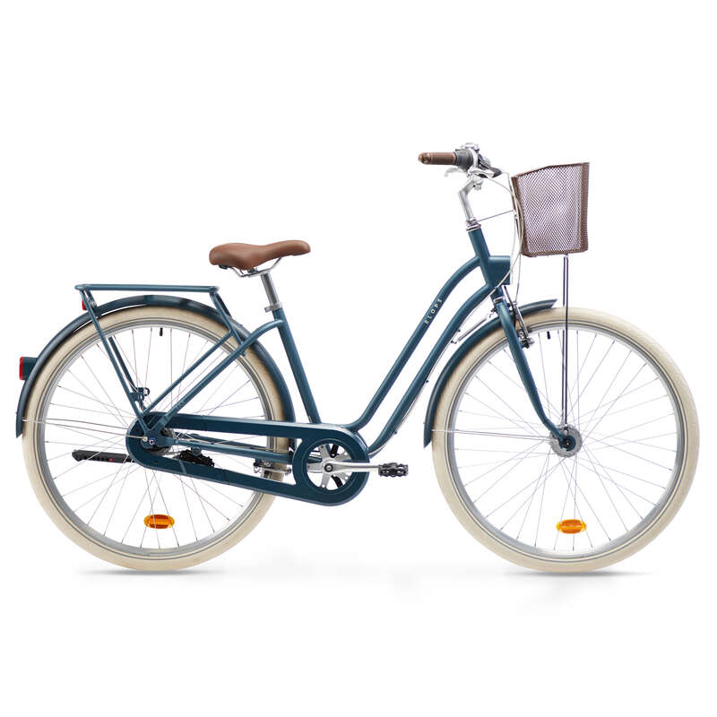 URBAN TRADITIONAL BIKES Cycling - Low Frame City Bike Elops 540 ELOPS - Bikes