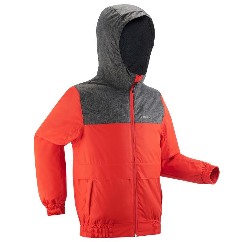 Kids' Waterproof Winter Hiking Jacket SH100 X-Warm -1°C Age 7 - 15