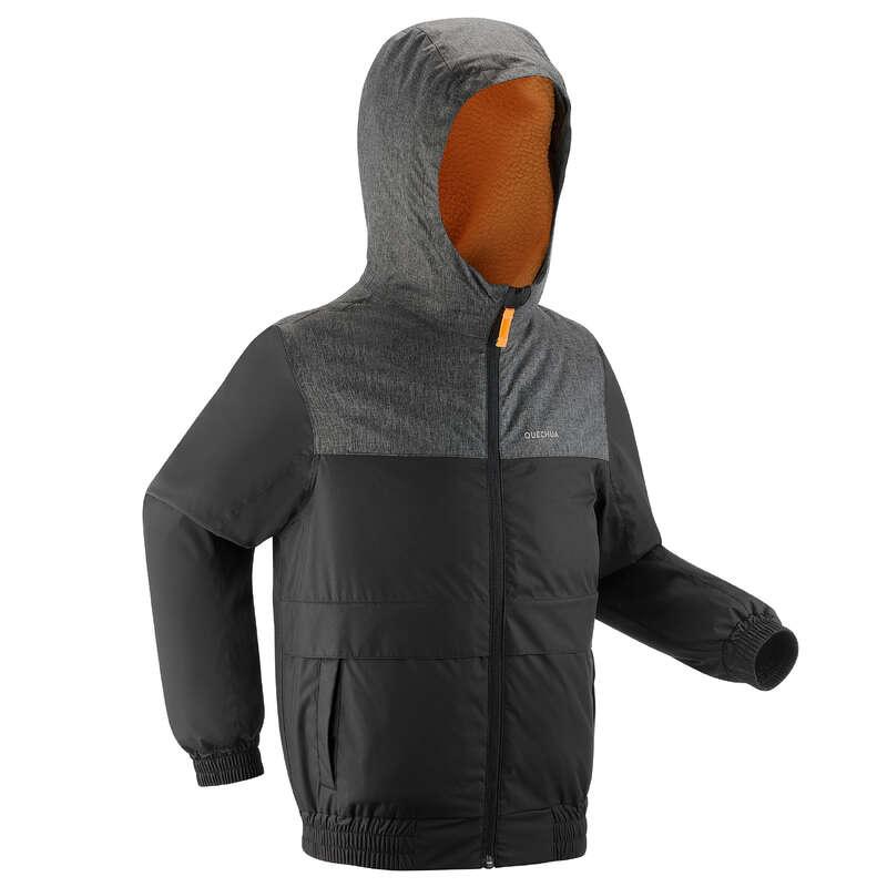 FIÚ KABÁT & NADRÁG TÉLI TÚRÁZÁSHOZ Felsőruházat - Gyerek kabát SH100 X-WARM  QUECHUA - Felsőruházat