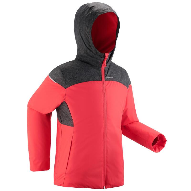 Giacca montagna bambina 7- 15 anni SH100 X-WARM 0°C rosa