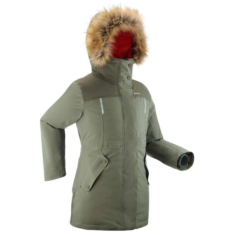 ОДЕЖДА ДЛЯ ДЕВОЧЕК / ЗИМНИЕ ПОХОДЫ Одежда - ПАРКА ДЕТ. SH500 U–WARM QUECHUA - Куртки