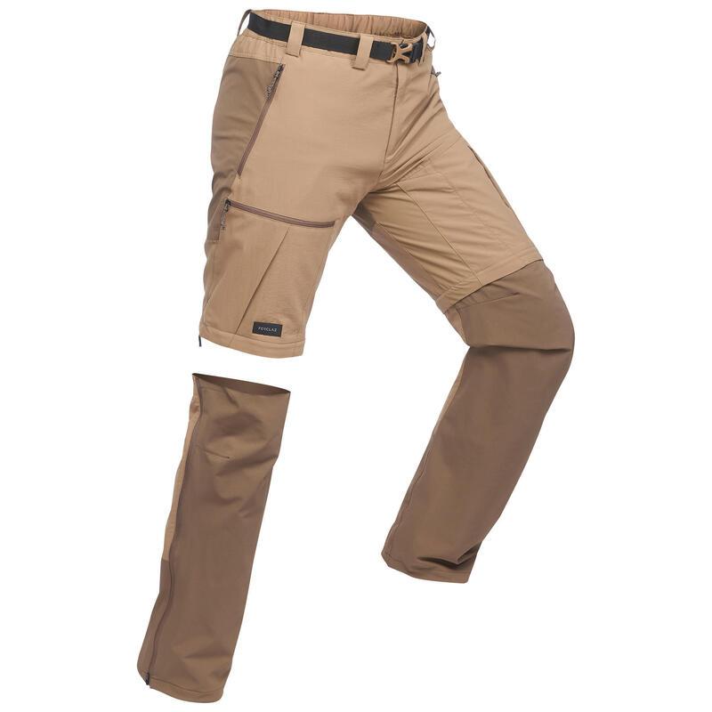 Spodnie trekkingowe 2w1 TREK 500 męskie