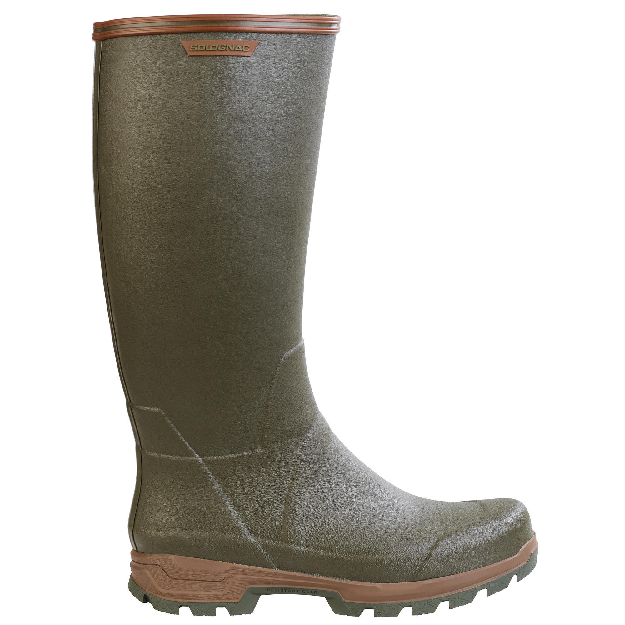 Lightweight hunting boots 500 SOLOGNAC