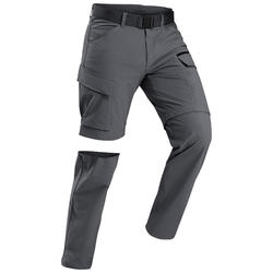 Men's trekking convertible travel trousers - TRAVEL
