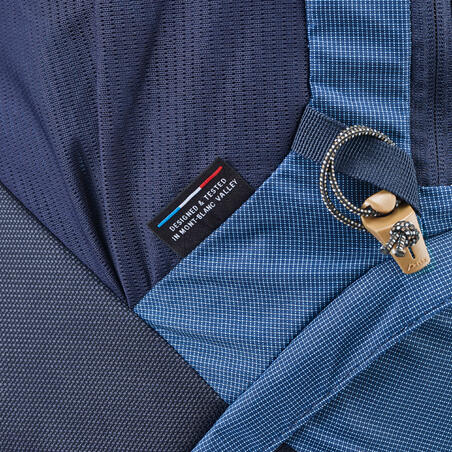 Trek500 50L+10L Women's Mountain Trekking Backpack - Blue
