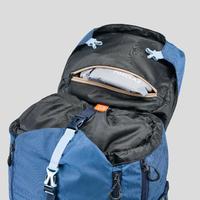 Sac à dos de randonnée en montagne TREK 500 50+10L bleu - Femmes