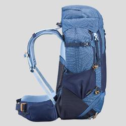 Sac à dos de trekking en montagne femme - TREK 500 - 50+10L bleu