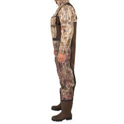 Waders chasse 500 néoprène camouflage marais