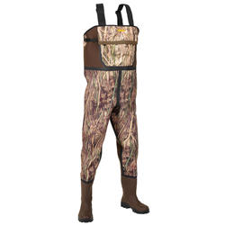 Waders chasse 500 néoprène camouflage marais