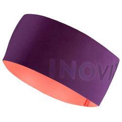 Bandeau de ski de fond violet - XC S HEAD 500 - enfant