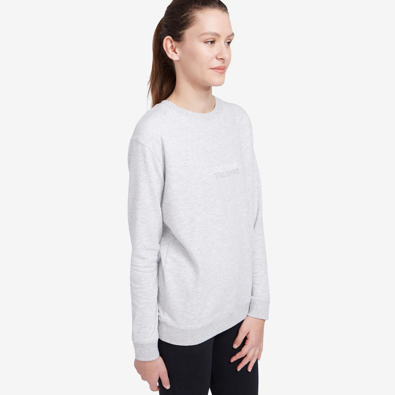 Women's Training Sweatshirt 120 - Light Grey