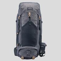 Men's mountain trekking rucksack | TREK 500 50+10L - black