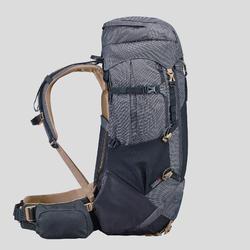 Sac à dos de trekking en montagne homme - TREK 500 - 50+10L noir