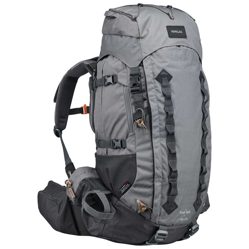 Trekking hátizsák - Férfi hátizsák Trek 900 50+10L FORCLAZ