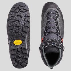Chaussures imperméables de trek - TREKKING 500 MATRYX® gris - femme
