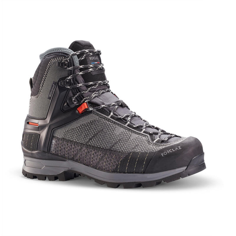 Scarpe montagna donna TREK500 MATRYX® impermeabili grigie