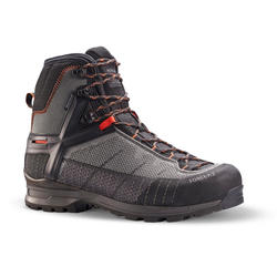 Scarpe trekking uomo TREK 500 MATRYX® impermeabili grigie