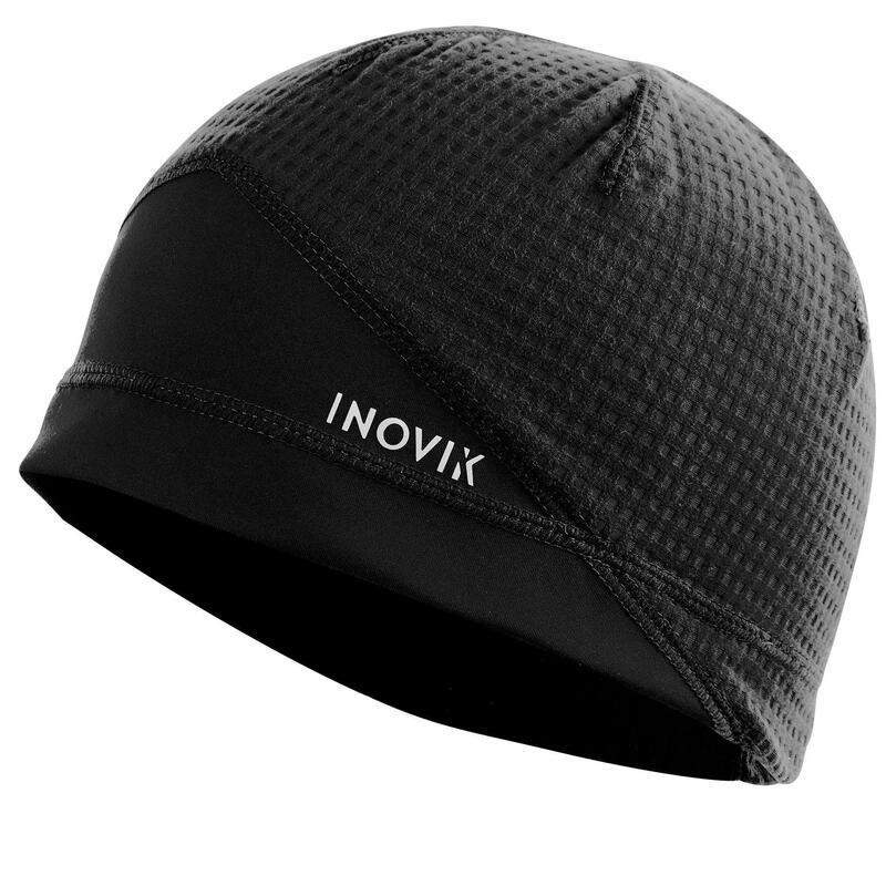 Bonnet ski de fond noir XC S BEANIE 500 ENFANT